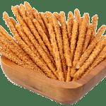 breadsticks with sesame κριτσίνια με σουσάμι