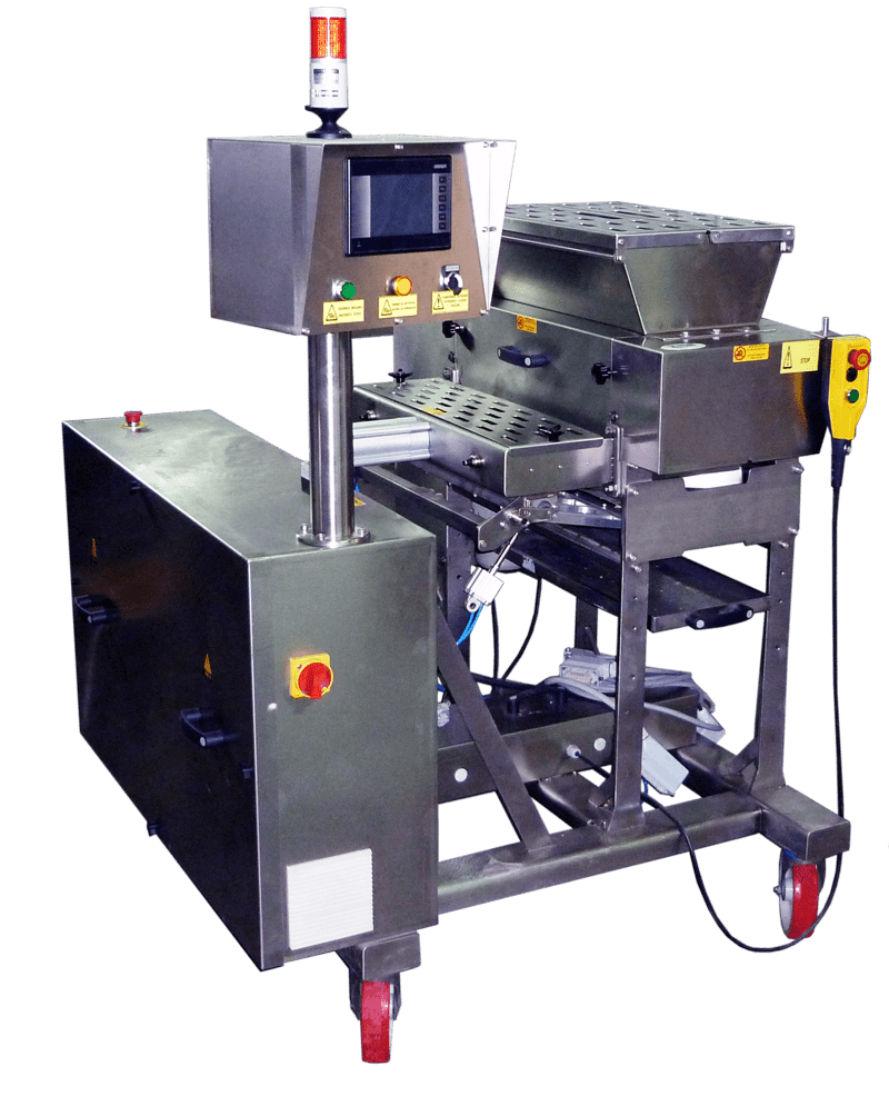 AUTOMATIC ELECTRONICALLY GUIDED DOUGH EXTRUDER