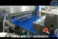 Biscuits Sandwich line Model SDWF ALN