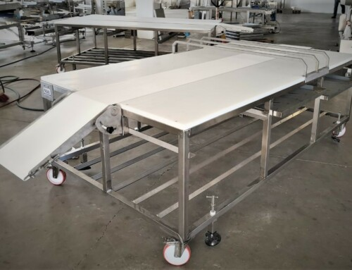 Dough Rolling Bench. Installation at Terkenlis SA