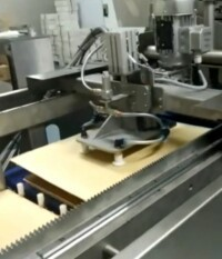 Wafer praline depositing line